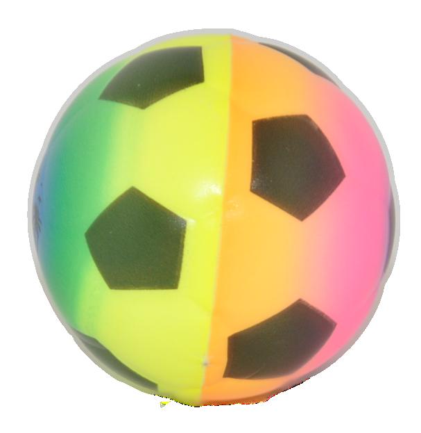 Fussball Schaumstoffball Softball Knautschball O 6 Cm